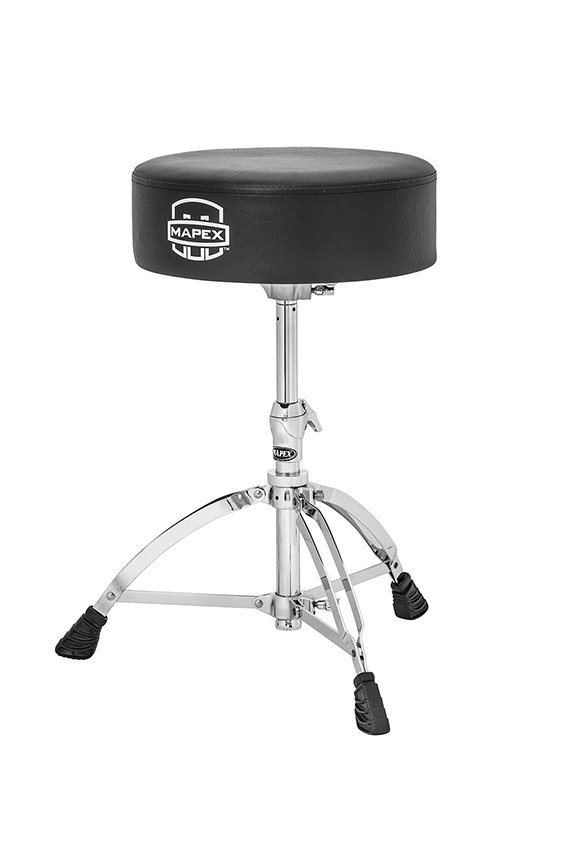 Mapex Round Top Double Braced Drum Throne - T570A