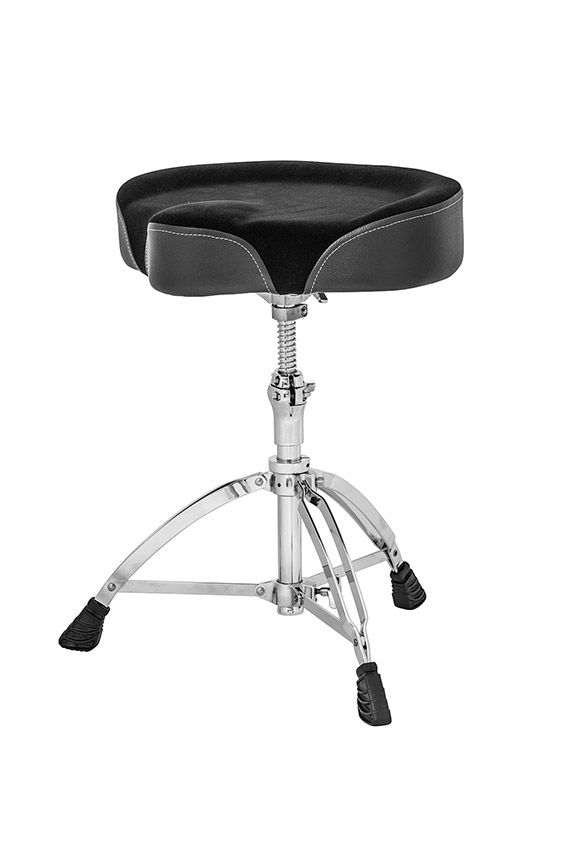 Mapex Cloth Saddle Top Double Braced Drum Throne - T765A