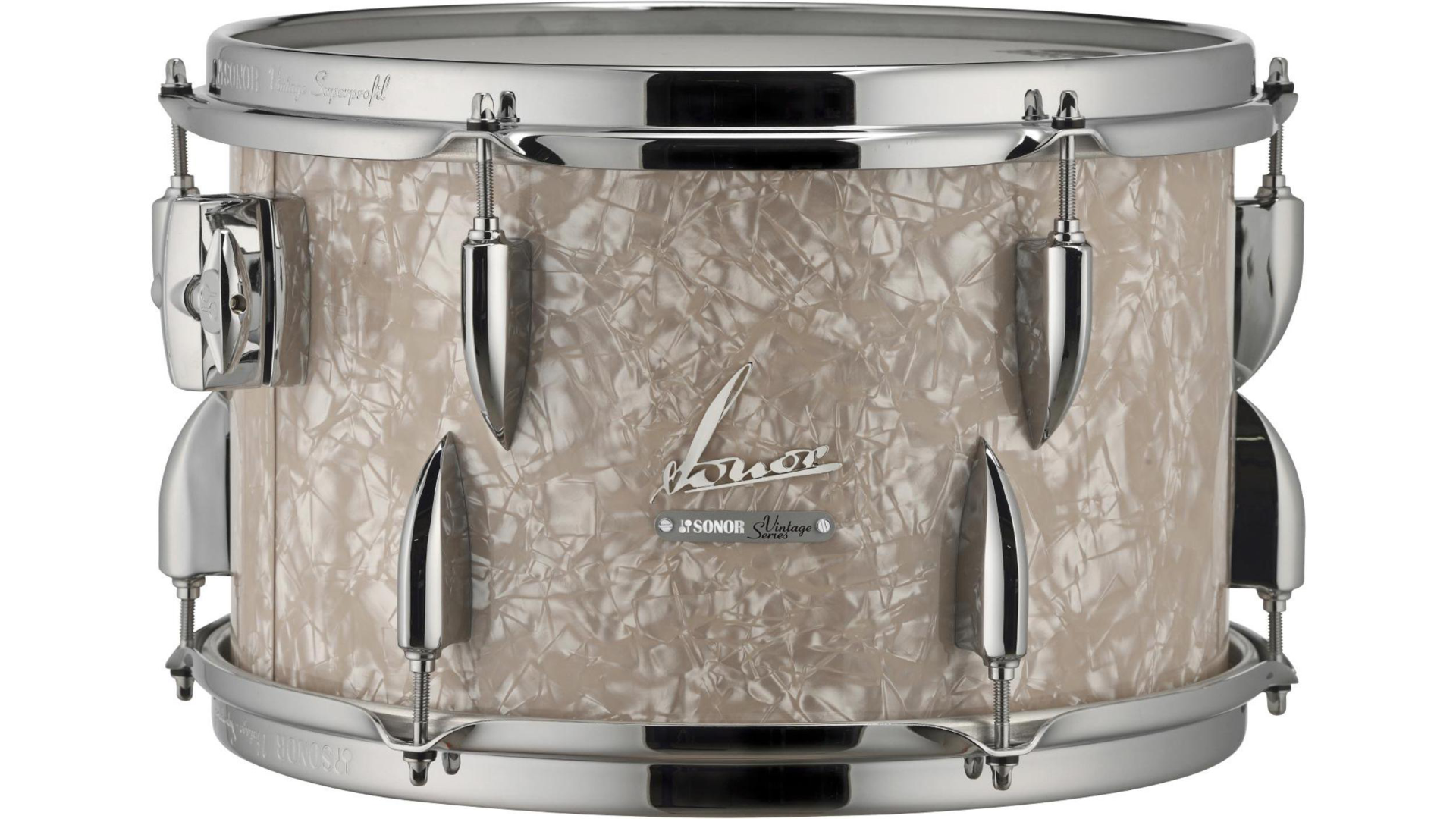 Sonor Vintage Series Tom  13 x 8 in. Vintage Pearl