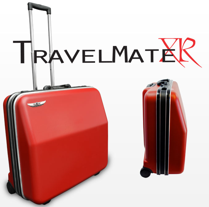 Excalibur TravelMate XR Accordion Case - Sunset Red