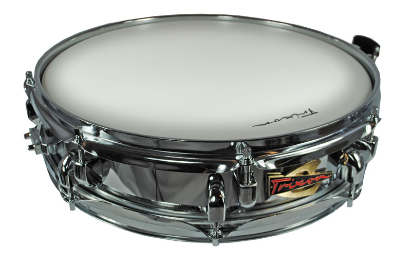 Trixon Solist Elite Chrome Piccolo Snare Drum with Royal Rib