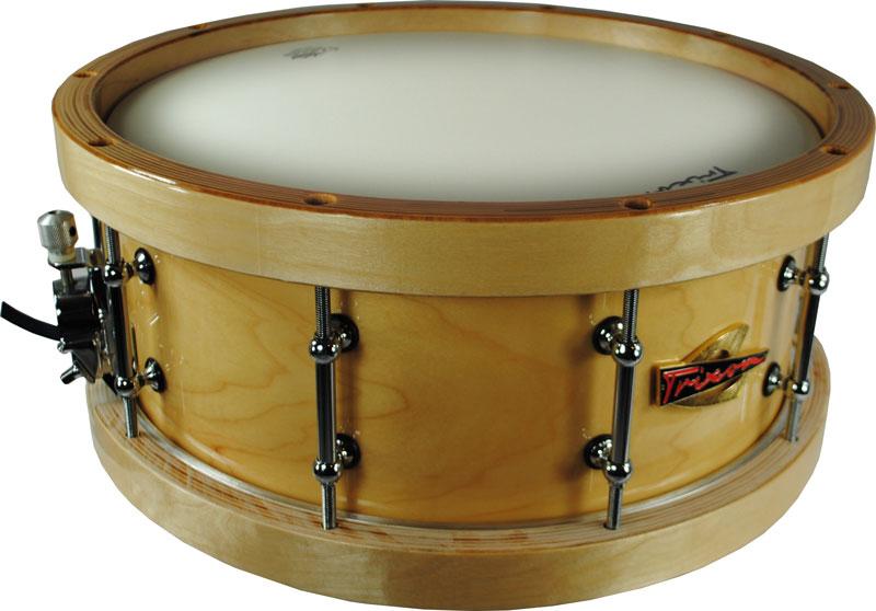 trixon soloist elite snare drum wood shell wood hoops jim laabs music store. Black Bedroom Furniture Sets. Home Design Ideas