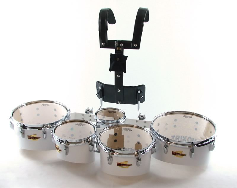 Trixon Field Series Tenor Marching Tom Set - 5 Toms