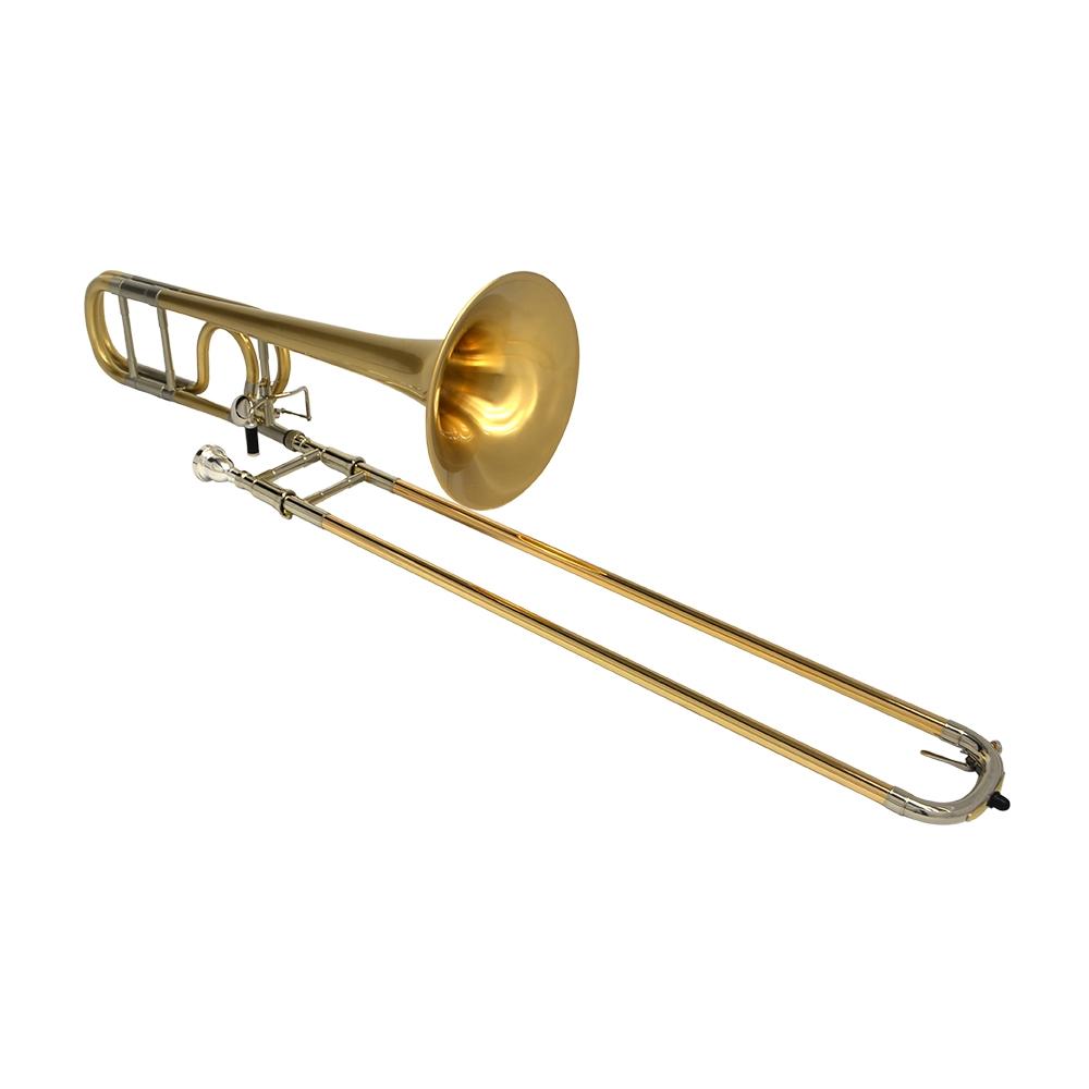 Schiller Studio 547 Trombone - Satin Gold Bell & Body