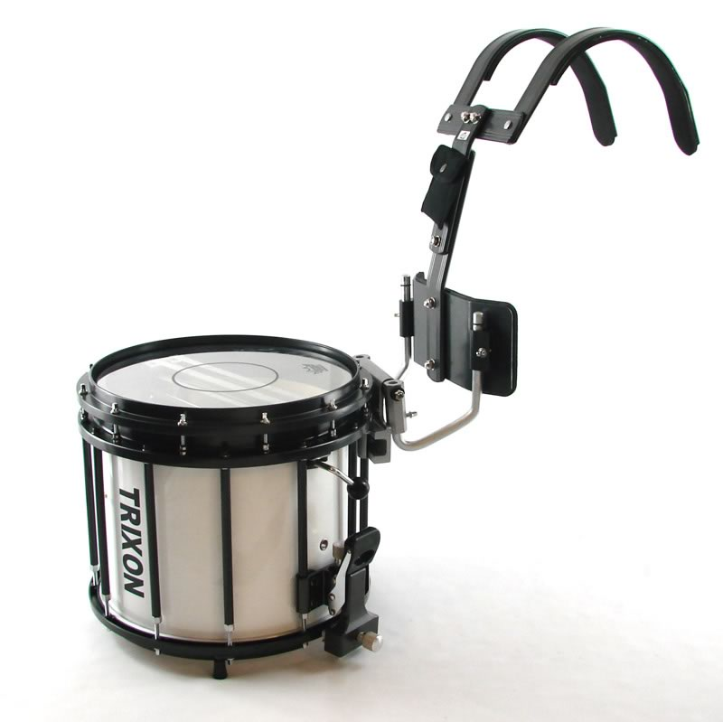 Trixon Pro Marching Snare 14x12 - White