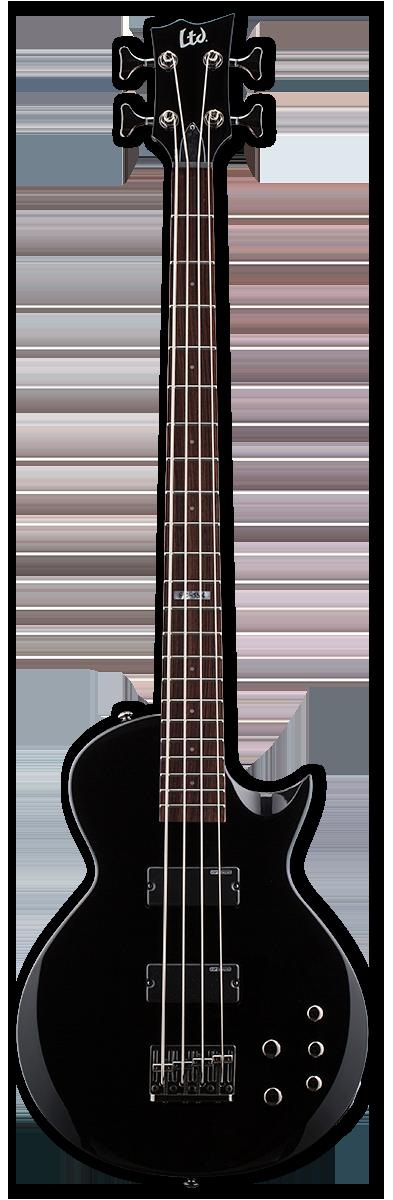 ESP LTD EC-154 Black Bass Guitar