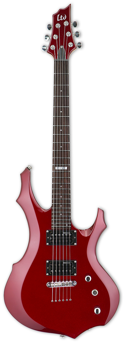 ESP LTD F-50 Black Cherry Metallic Electric Guitar