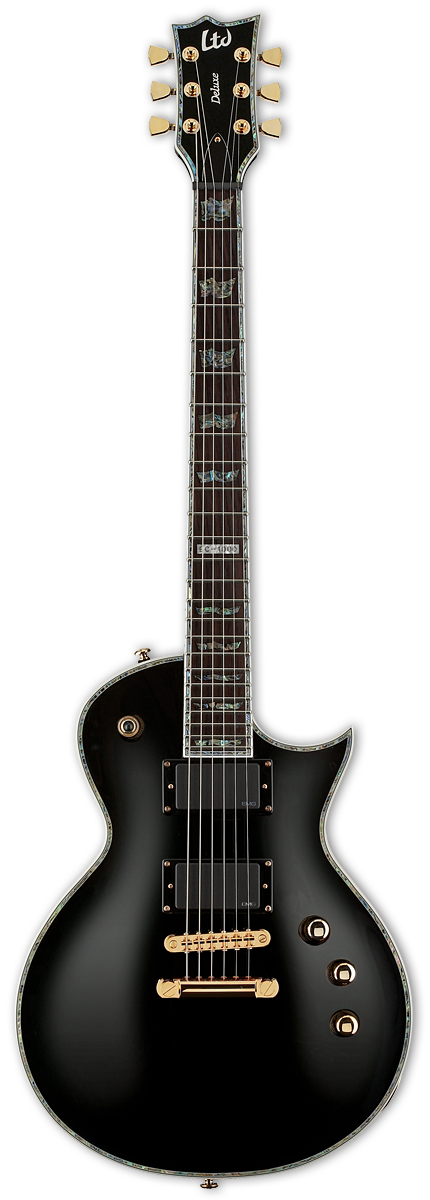 ESP LTD EC-1000 Black Electric Guitar