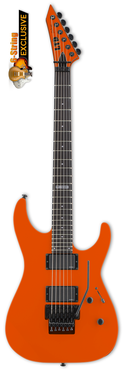 ESP LTD M-1000 Go Go Orange Electric Guitar