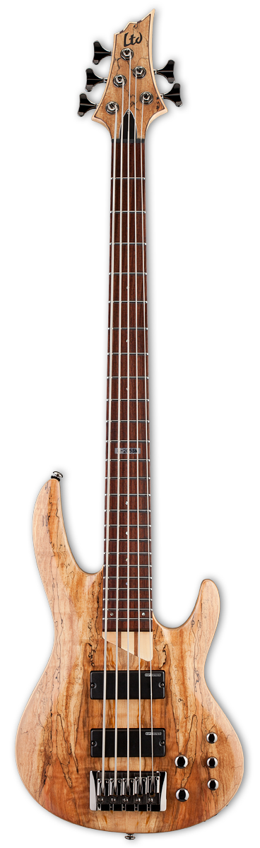 ESP LTD B-205SM Natural Satin Bass Guitar