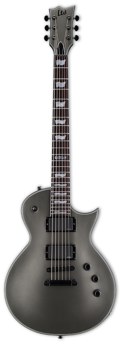 ESP LTD EC-401 Charcoal Satin Electric Guitar