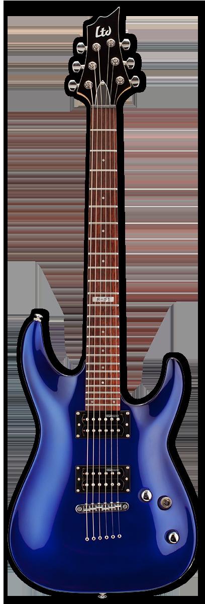 ESP LTD H-51 Electric Blue Electric Guitar