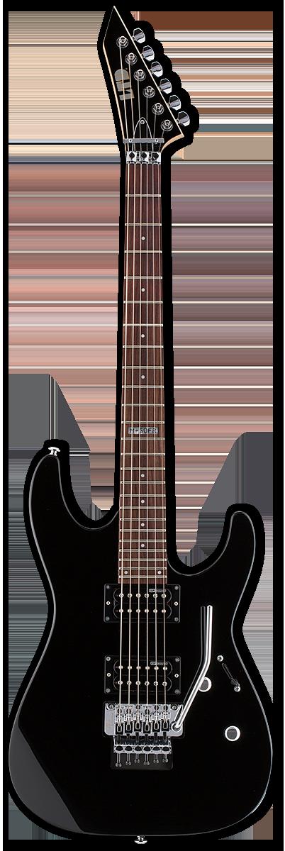 ESP LTD M-50FR Black Electric Guitar