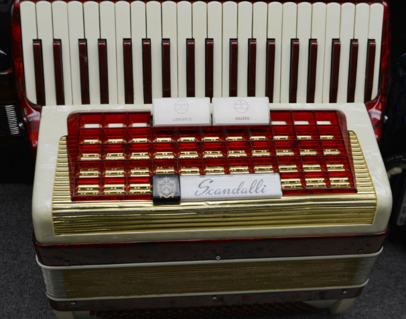 Scandalli Piano Accordion
