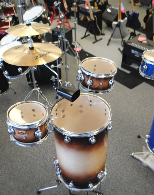 Trixon Cocktail Elite Drumkit Natural Fade