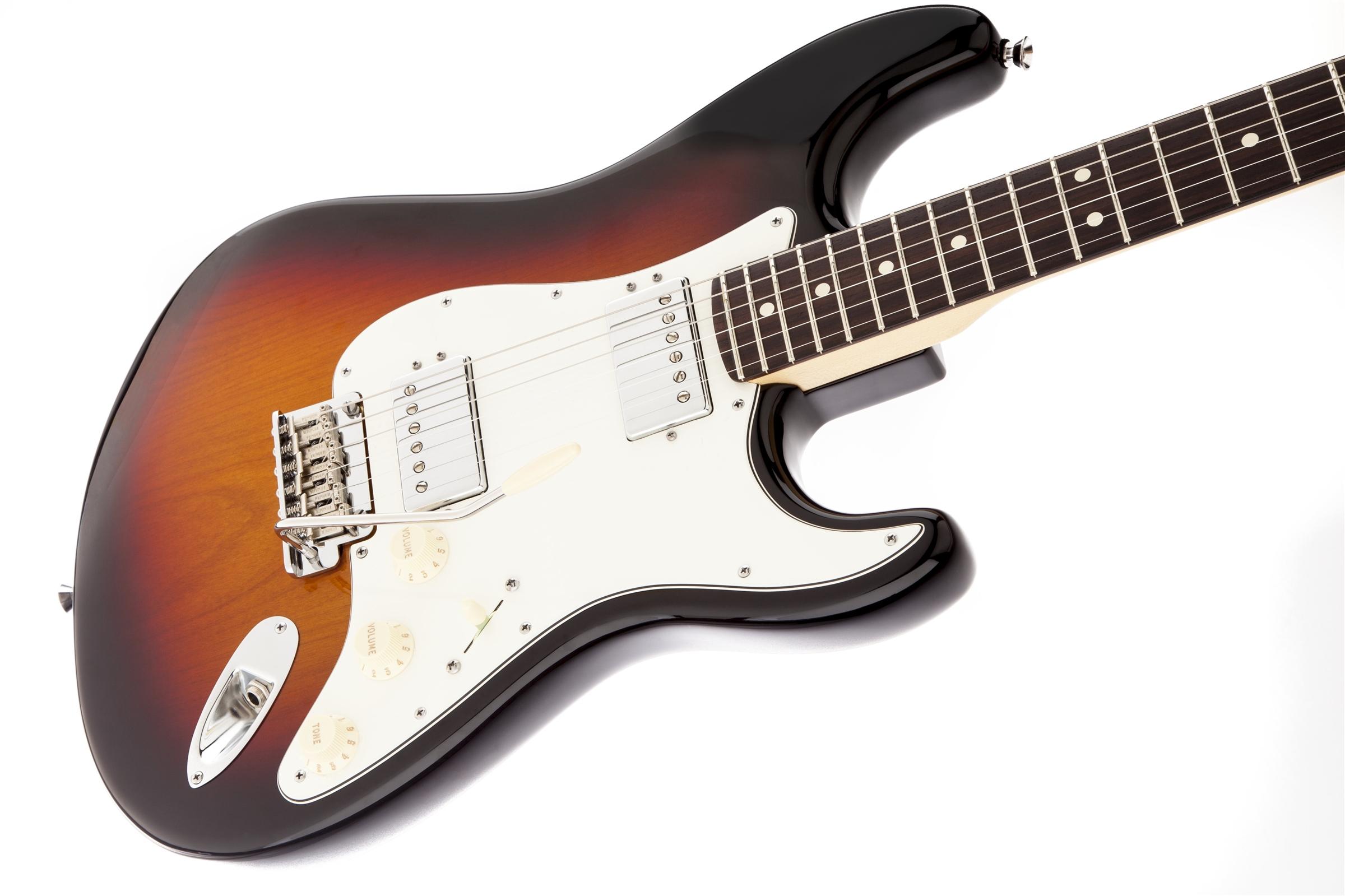 fender american standard stratocaster hh 3 color sunburst rosewood fingerboard electric guitar. Black Bedroom Furniture Sets. Home Design Ideas