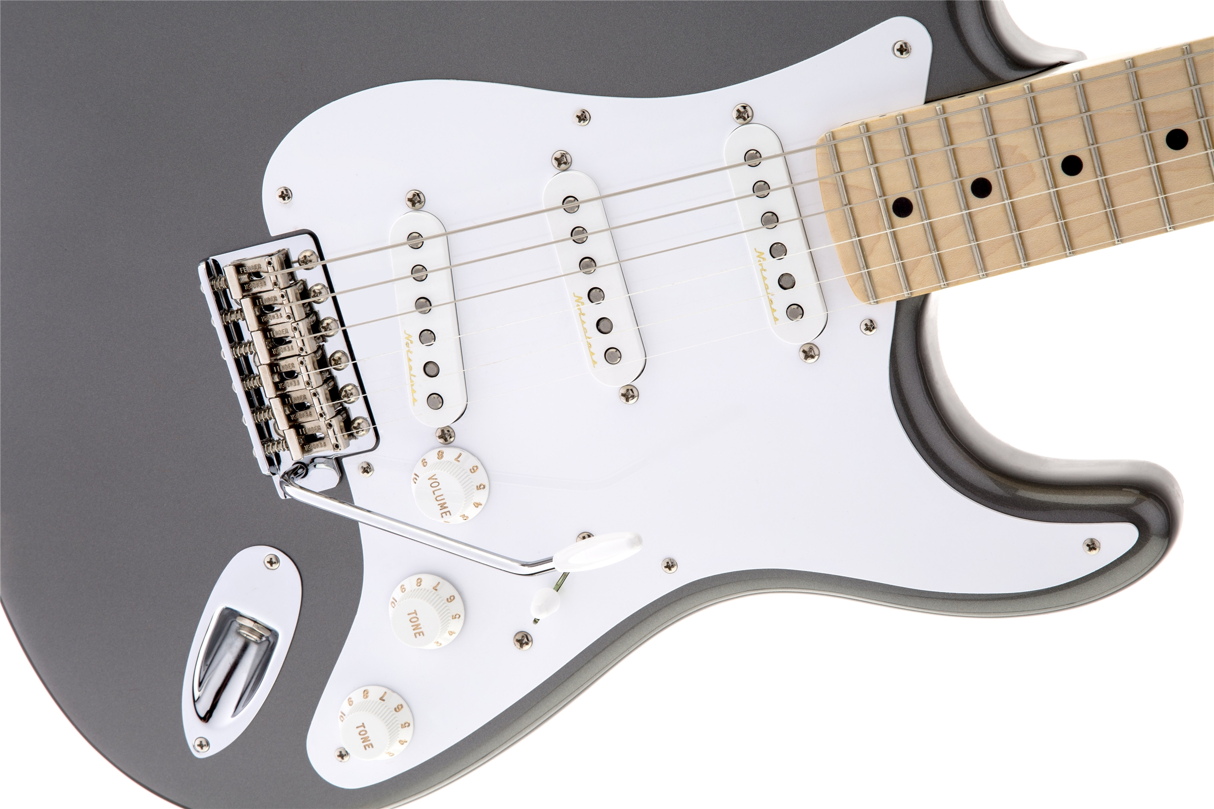 Fender Eric Clapton Stratocaster® Artist Series Pewter Maple Fingerboard Electric Guitar