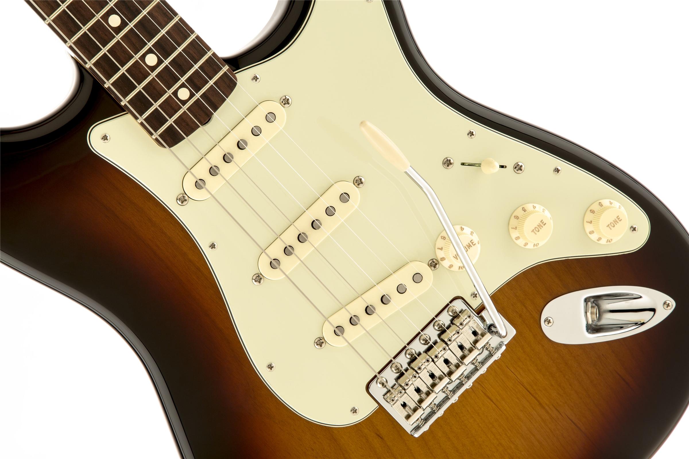 Fender Classic Series '60s Stratocaster® 3-Color Sunburst Rosewood Fingerboard Electric Guitar