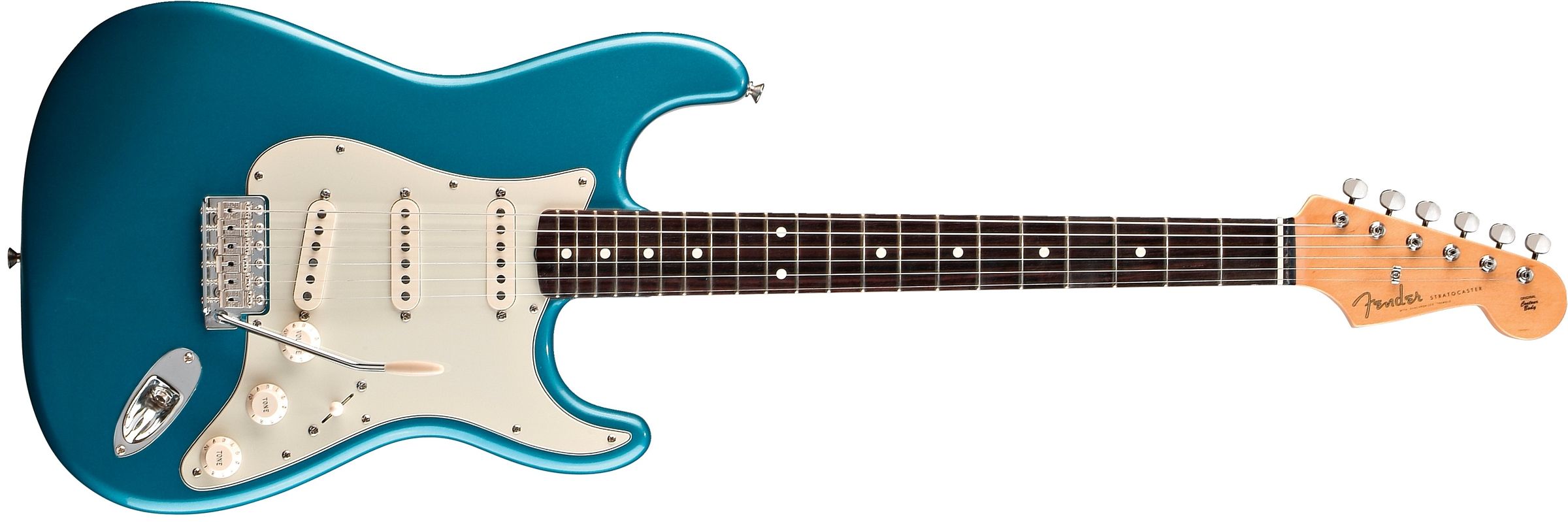 Fender Classic Series '60s Stratocaster® Lake Placid Blue Rosewood Fingerboard Electric Guitar