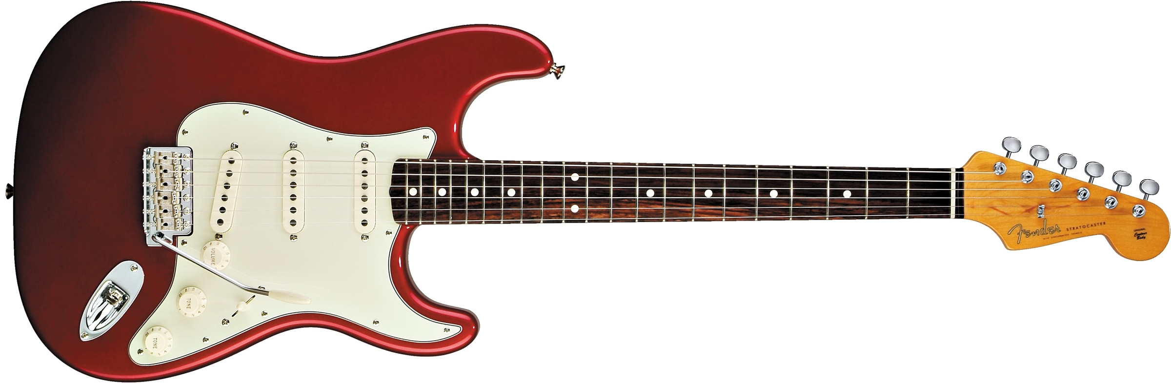 Fender Classic Series '60s Stratocaster® Candy Apple Red Rosewood Fingerboard Electric Guitar
