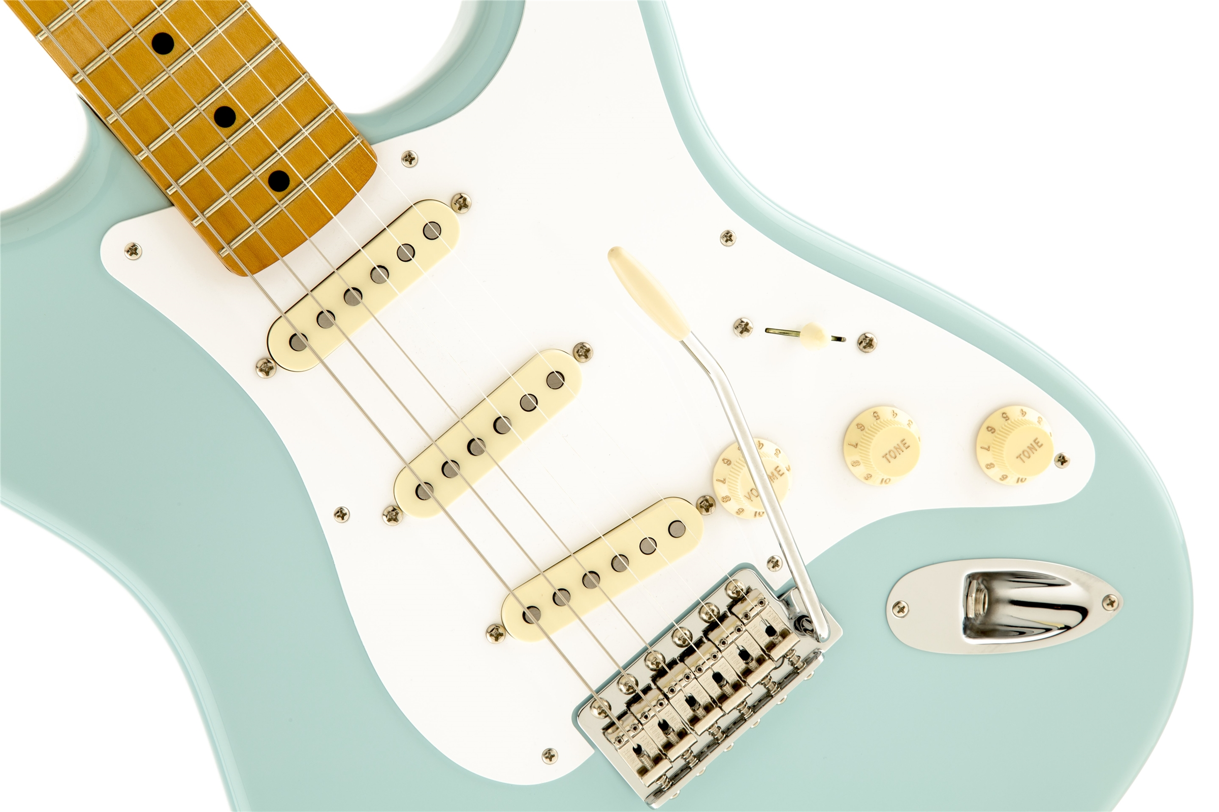 Fender Classic Series '50s Stratocaster® Daphne Blue Maple Fingerboard Electric Guitar