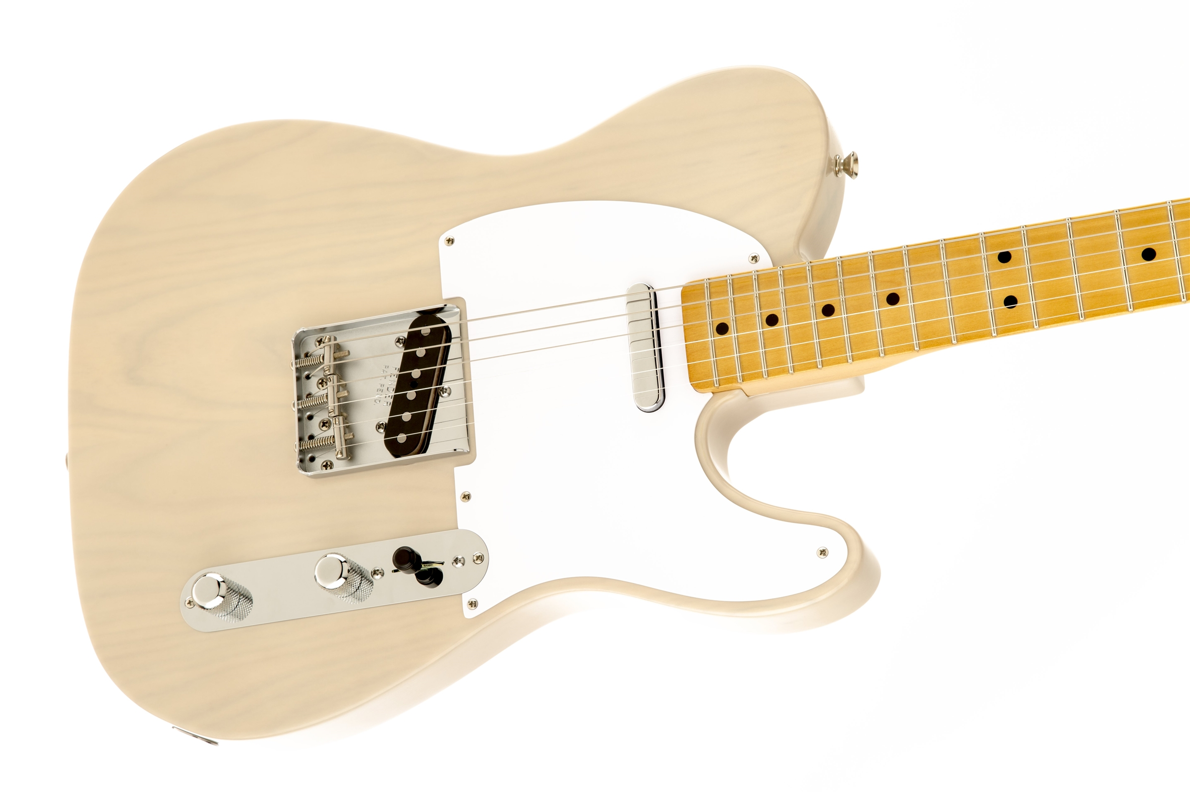 Fender Classic Series '50s Telecaster® White Blonde Maple Fingerboard Electric Guitar