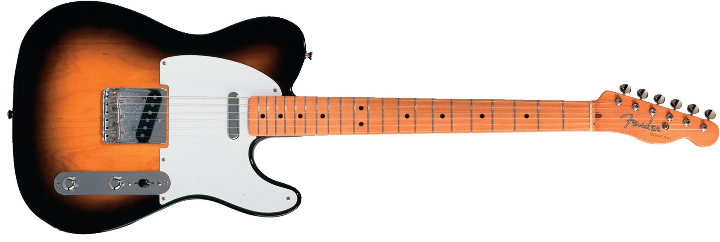 Fender Classic Series '50s Telecaster® 2-Color Sunburst Maple Fingerboard Electric Guitar