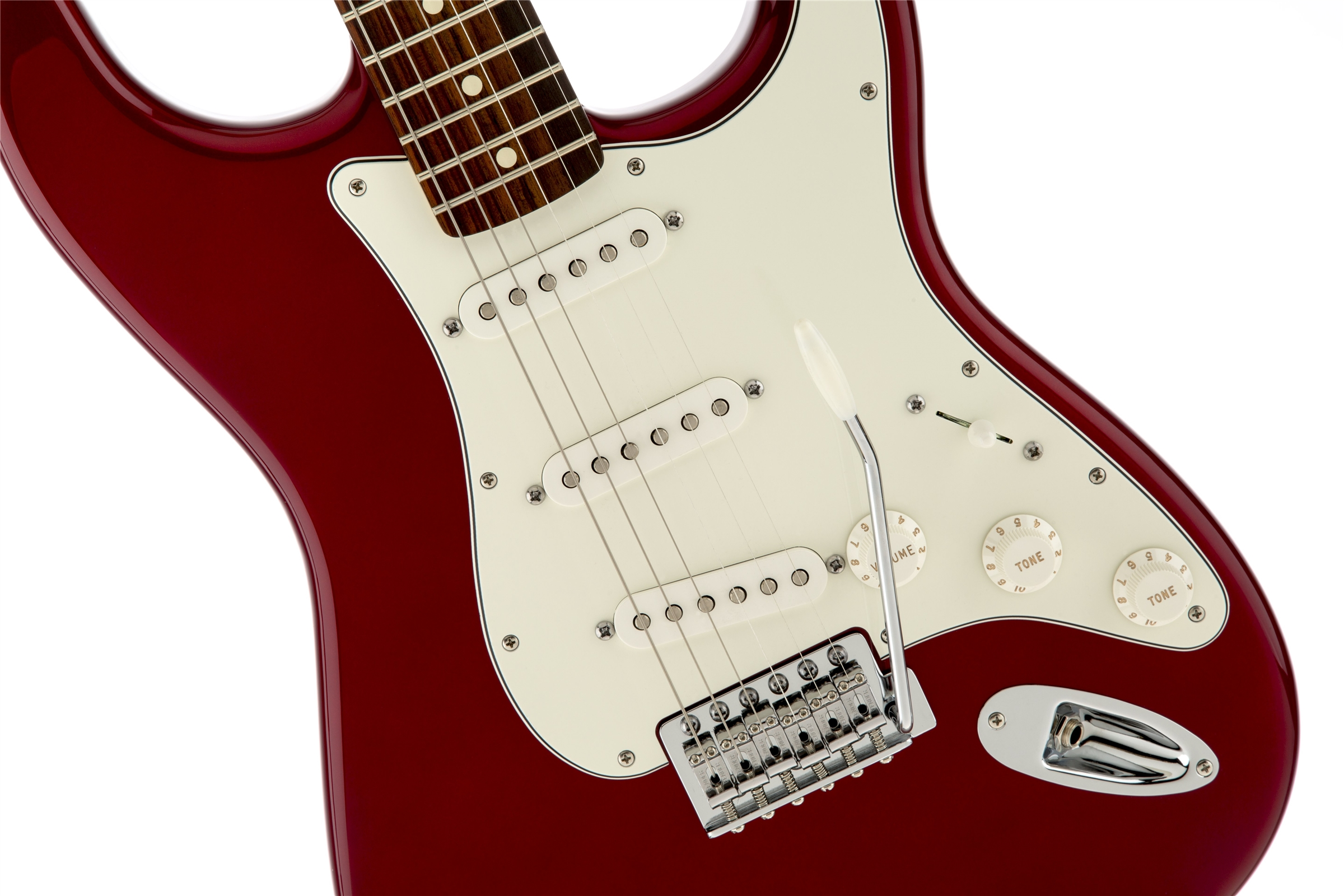 Fender Standard Stratocaster® Candy Apple Red Rosewood Fingerboard Electric Guitar