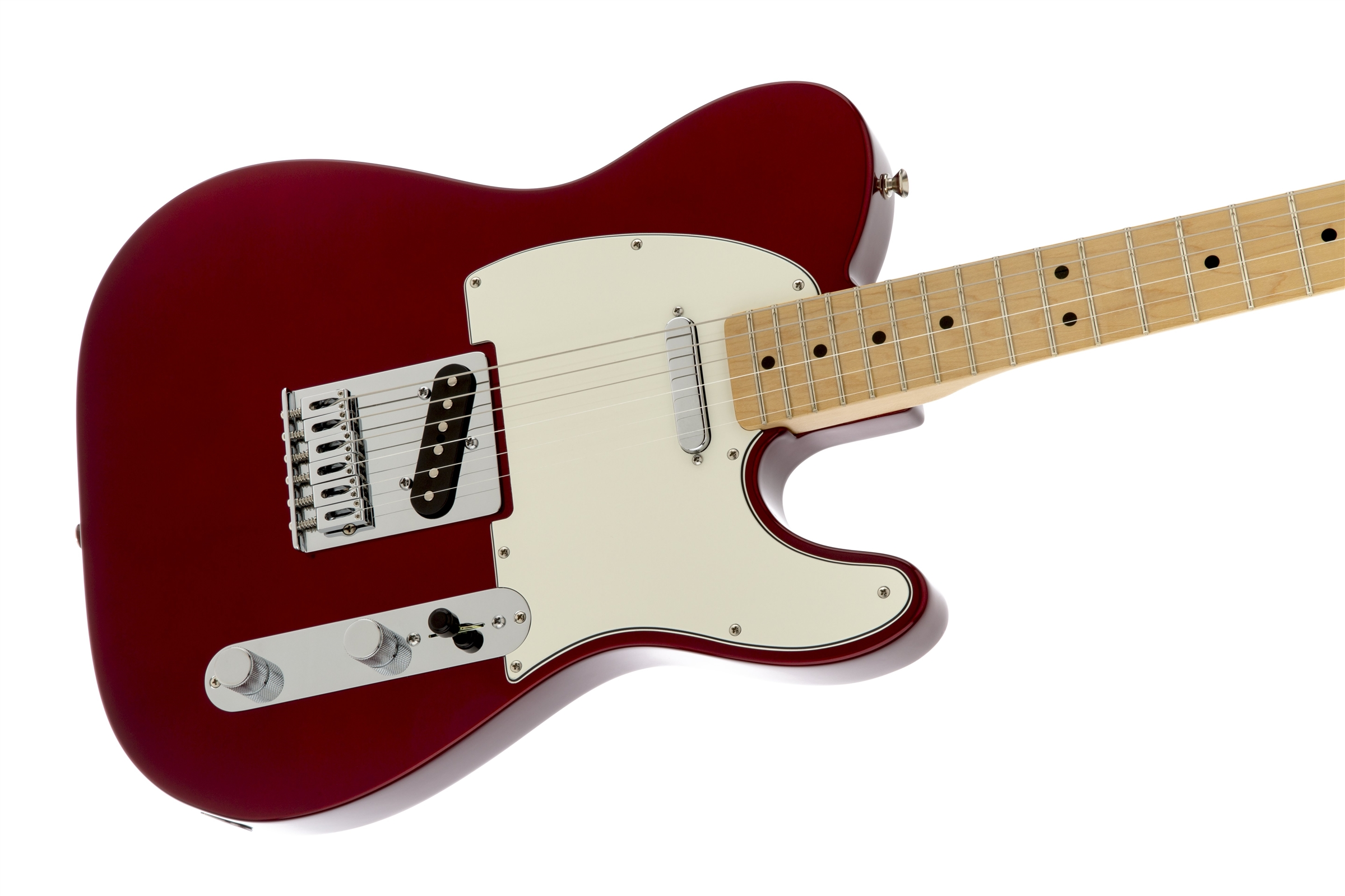 Fender Standard Telecaster® Candy Apple Red Maple Electric Guitar