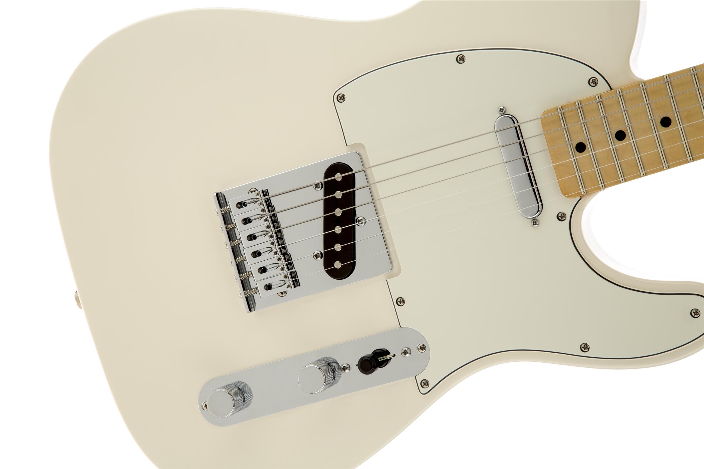 Fender Standard Telecaster® Arctic White Maple Electric Guitar
