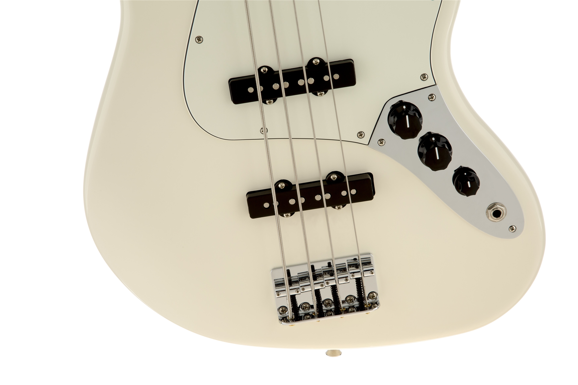 Fender Standard Jazz Bass® Arctic White Rosewood Fingerboard Electric Bass Guitar