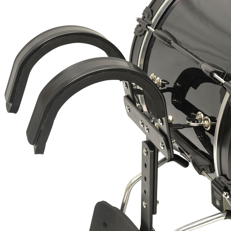 Trixon Field Series Marching Bass Drum - Black - 20