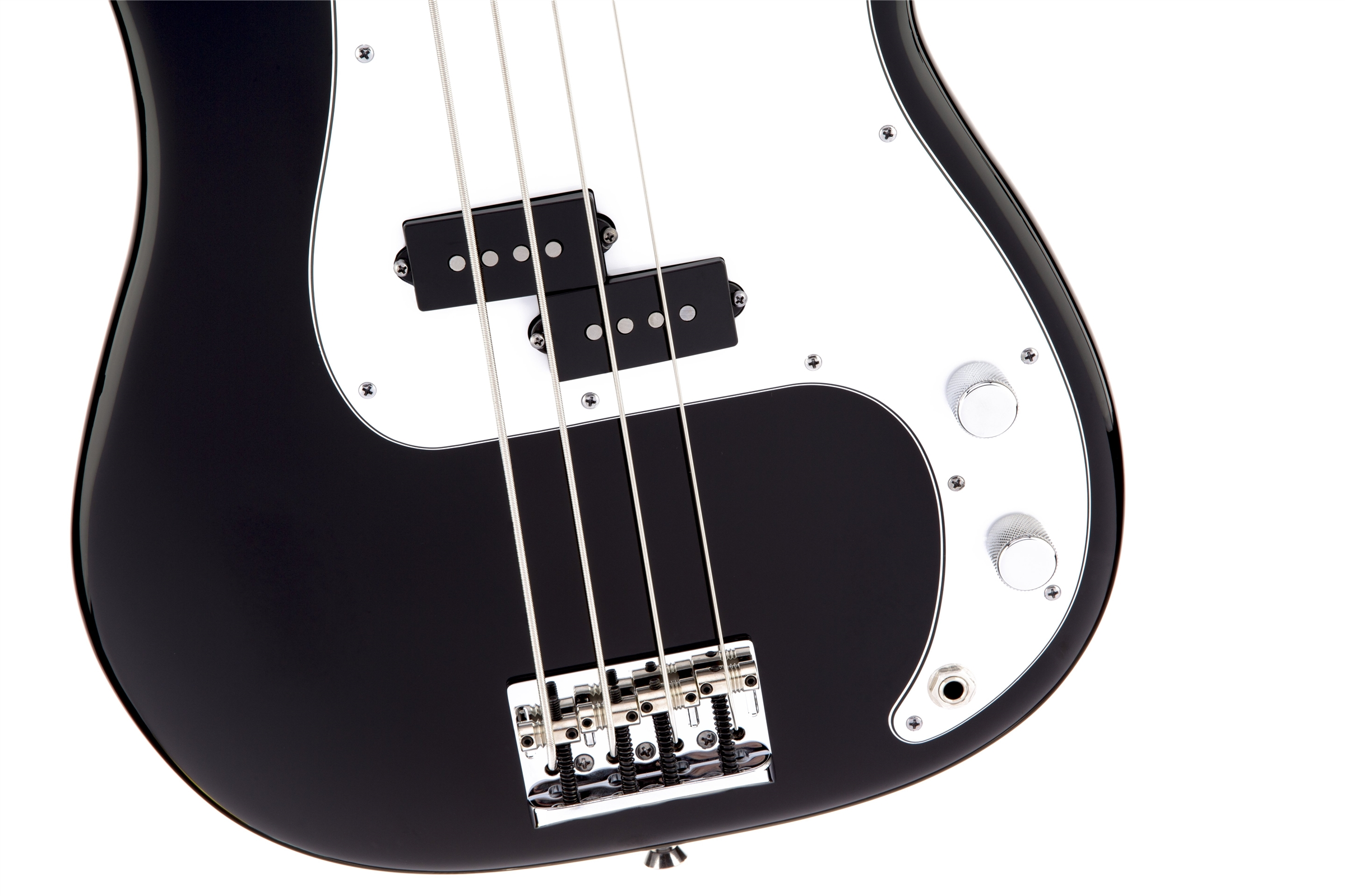 Fender American Standard Precision Bass® Black Rosewood Fingerboard Electric Bass Guitar