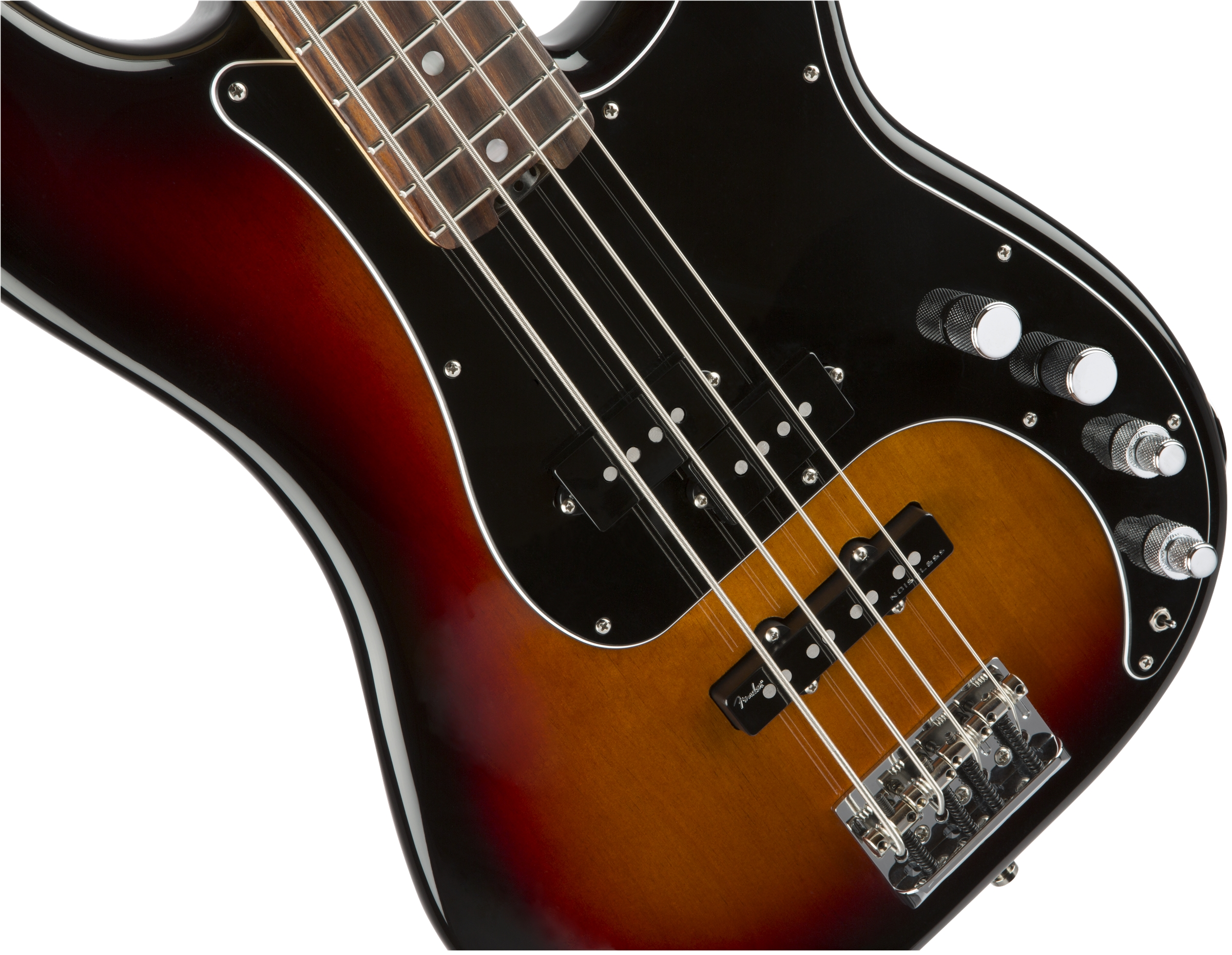 Fender American Elite Precision Bass® 3-Color Rosewood Fingerboard Electric Bass Guitar