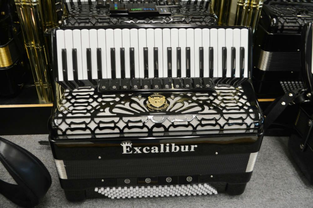Excalibur Triple Crown Piano Accordion