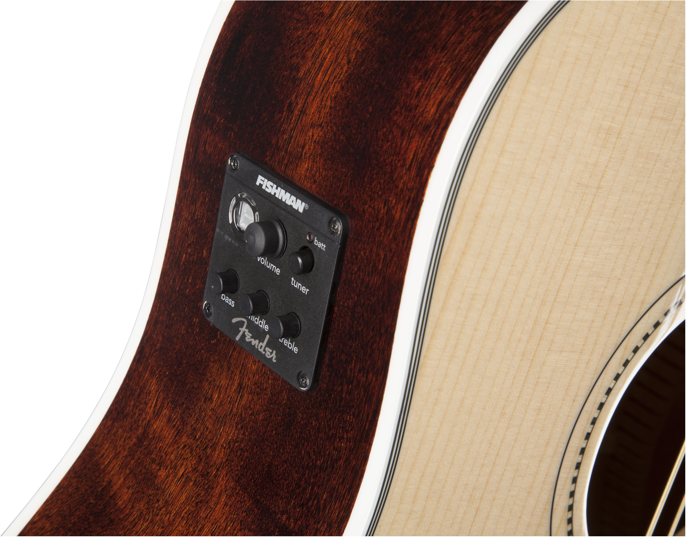 Fender Sonoran™ SCE Natural Cutaway Dreadnought Acoustic Electric Guitar