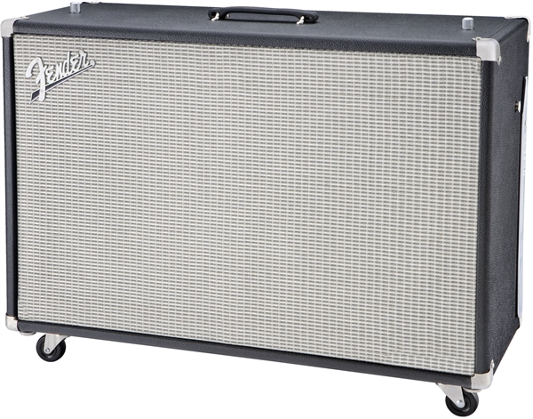 Fender Super-Sonic™ 60 212 Enclosure - Black and Silver