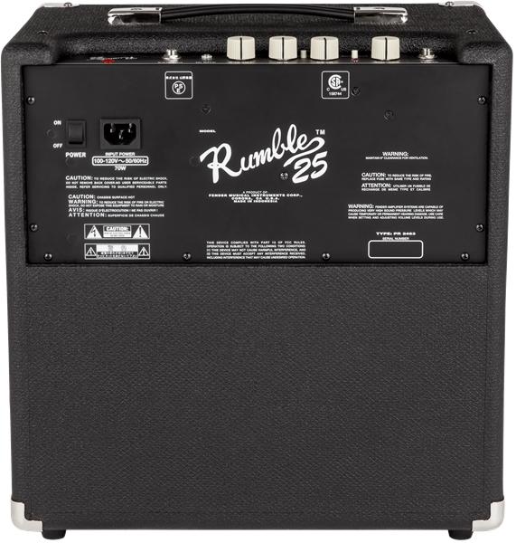 Fender RUMBLE™ 25 Bass Amp