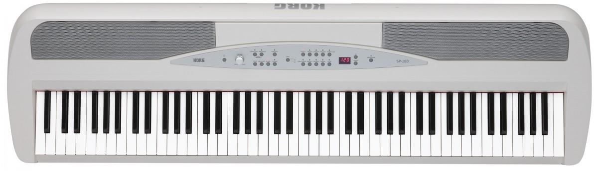 Korg SP-280 Digital Piano - White