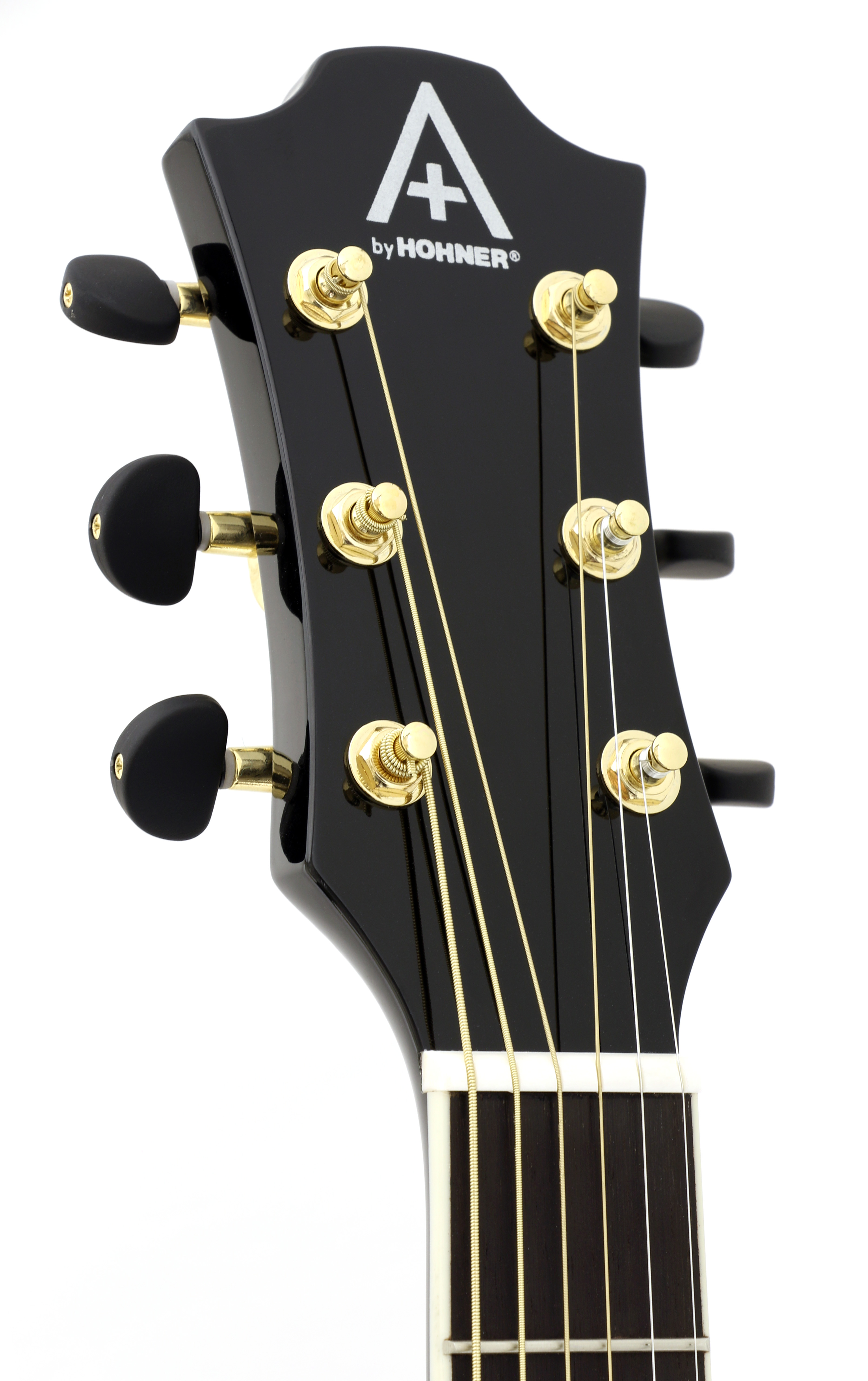Hohner AS355CE-BK Cutaway Acoustic Electric Dreadnought Guitar