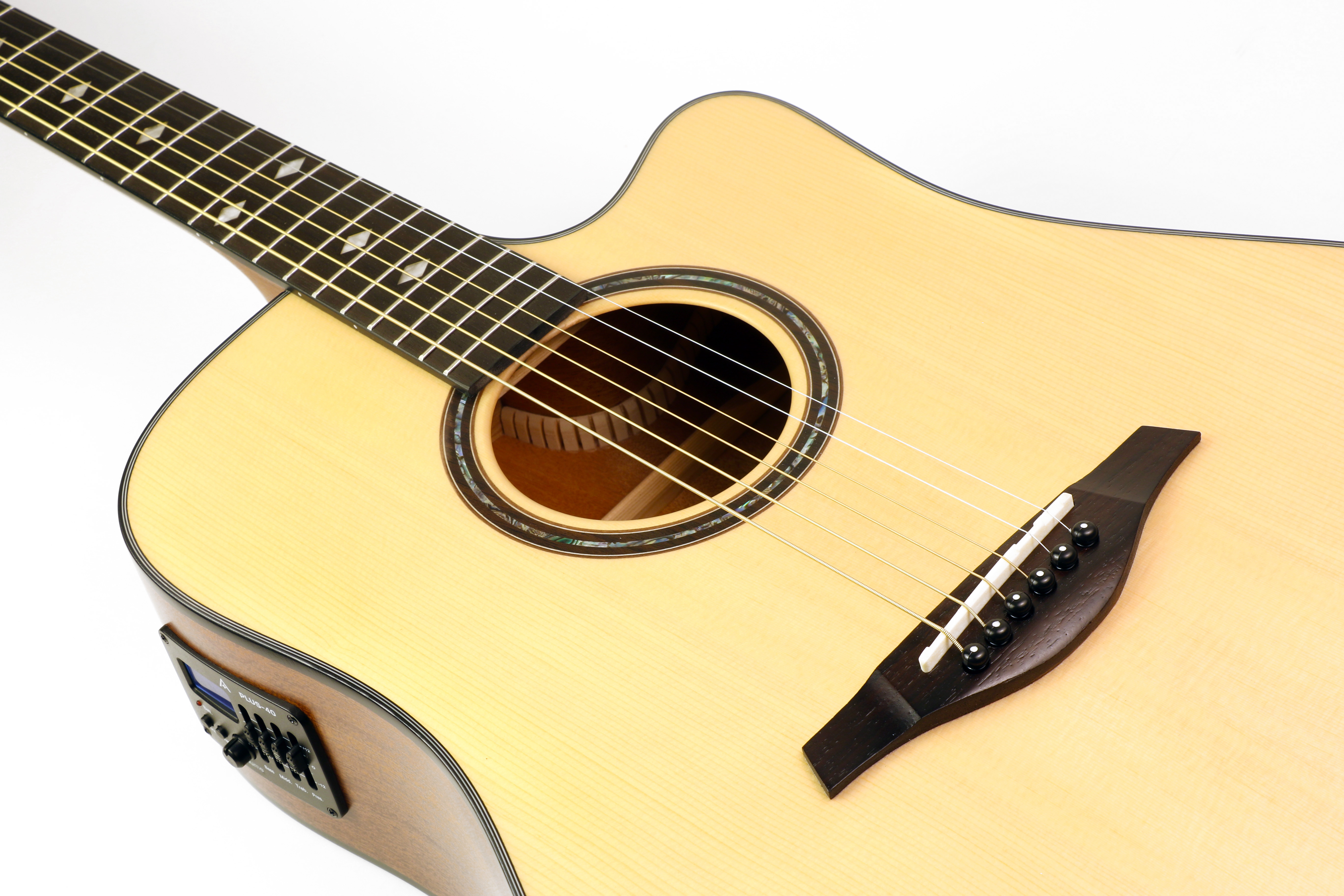 Hohner AS355CE-NS Cutaway Acoustic Electric Dreadnought Guitar