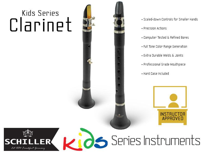 Schiller American Heritage Kids Series Clarinet