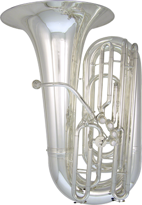 Kanstul Model 33-S 4/4 BBb Side Action Concert Tuba