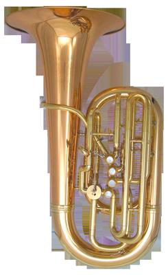 Kanstul Model 80-S 3/4 F Side Action Concert Tuba