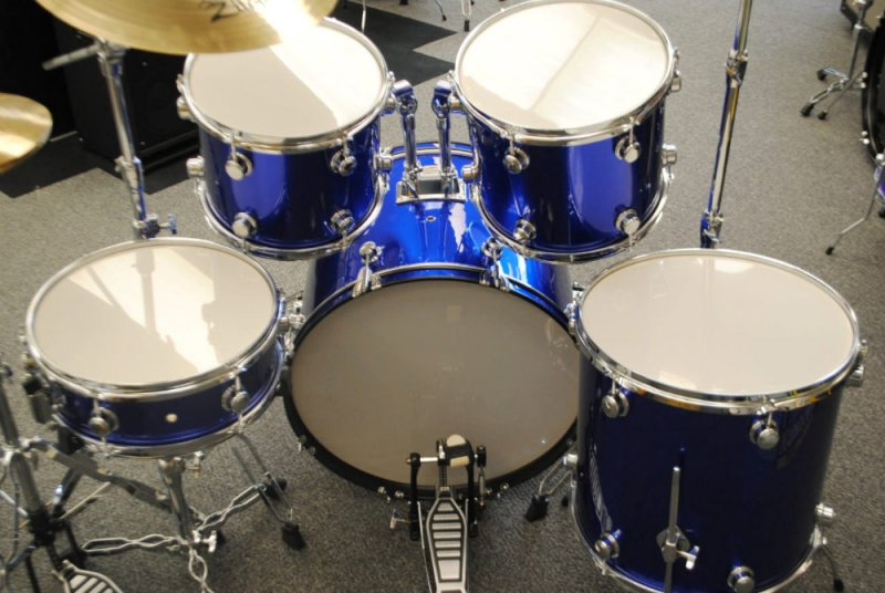Trixon 5 Piece Drumset Lake Placid Blue [Floor Model]