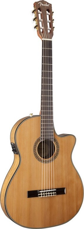 Fender CN-240SCE Thinline Classical Guitar