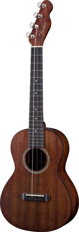 Fender® Telecaster® Hau'oli Mahogany Ukulele
