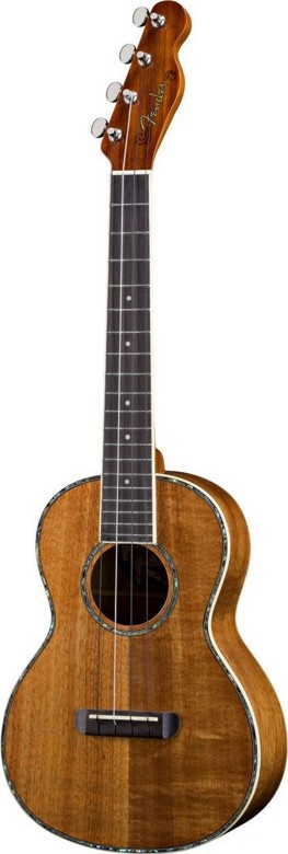 Fender®  Nohea, All Koa Ukulele