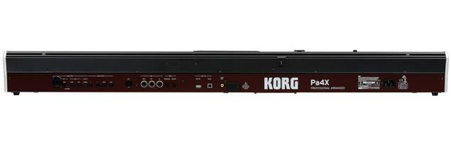 Korg Pa4X Professional Arranger, 61 Key - Black
