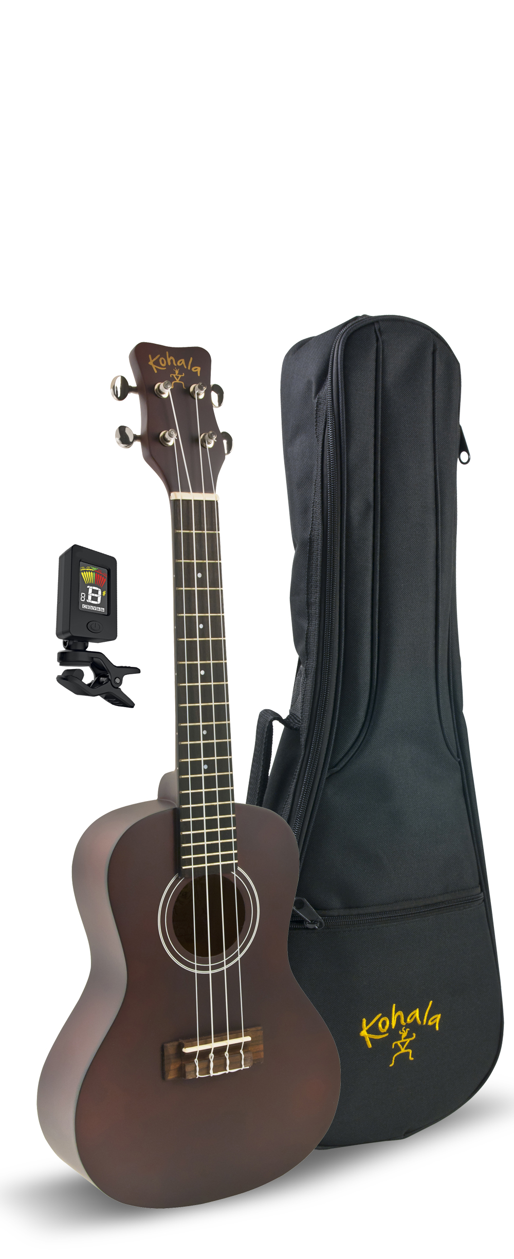 Kohala KPP-C Kohala Concert Player's Pack with Uke, Bag, Tuner